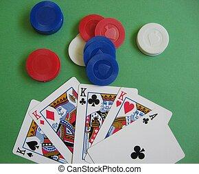 покер, игра, -, 4, of, , своего рода