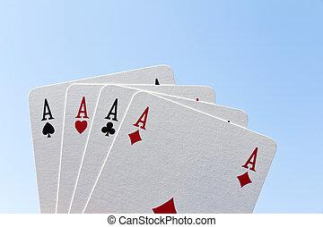 покер, of, aces