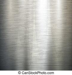 полированный, металл, texture.