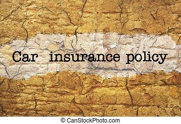 политика, автомобиль, страхование