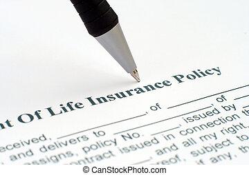 политика, жизнь, страхование