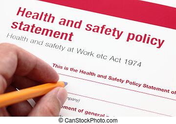 политика, здоровье, безопасность, statement.