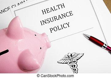 политика, здоровье, поросенок, банка, страхование