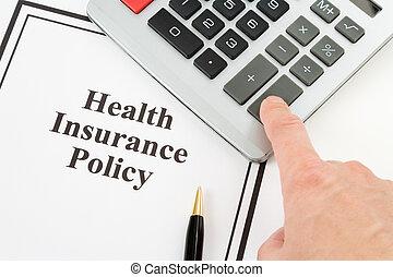 политика, здоровье, страхование