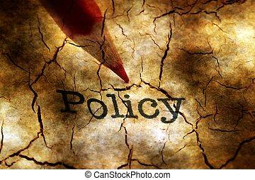 политика, карандаш, концепция, гранж, текст