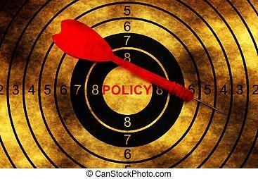 политика, концепция, гранж, мишень