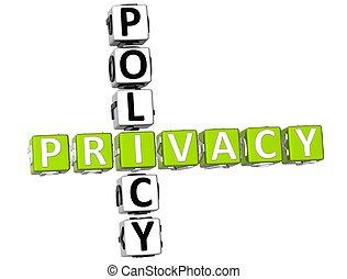 политика, кроссворд, конфиденциальность