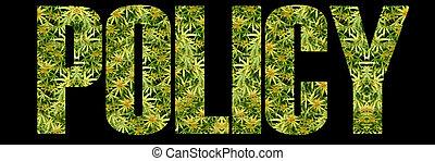 политика, марихуана