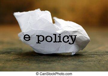 политика, мусор