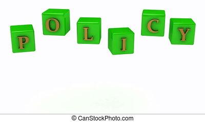 политика, надпись, золото, буквы