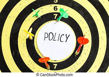 политика, надпись, центр, мишень, darts