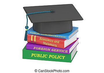 политика, образование, 3d, общественности, оказание