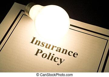 политика, страхование