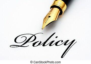 политика, текст, ручка, фонтан