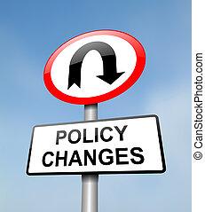политика, change.