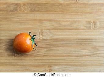 помидор, деревянный, рубящий, блок