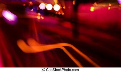 порыв, timelapse, автомагистраль, место действия, барселона,...