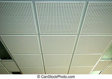 потолок, офис