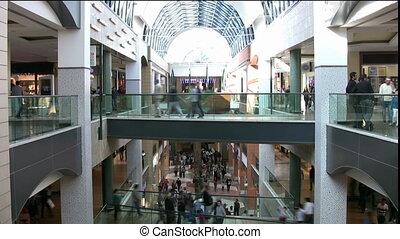 поход по магазинам, торговый центр