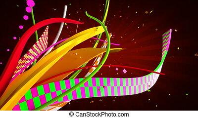 праздник, ribbons