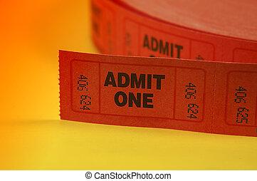 признавать, один, tickets