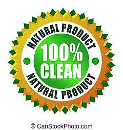 продукт, натуральный, чистый