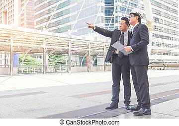проект, планирование, строительство, businessmen