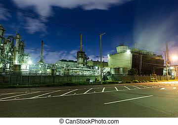 промышленность, завод