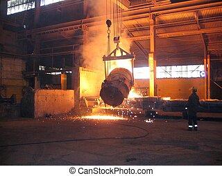 промышленность, smelting