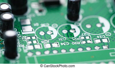 против часовой стрелки, схема, радио, printed, components, ...