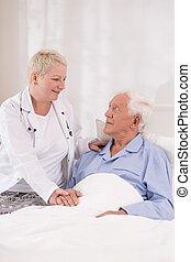 профессиональный, больница, забота