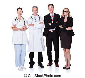 профессиональный, больница, сотрудники