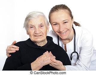 психологический, and, умственный, здоровье, в, старость