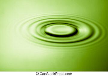 пульсация, эффект, воды