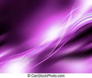 пурпурный, движение