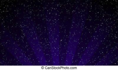 пурпурный, снег, петля, радиальный