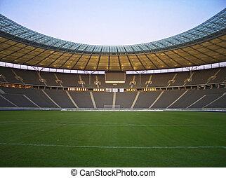 пустой, стадион