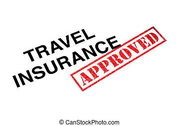 путешествовать, страхование, утвержденный