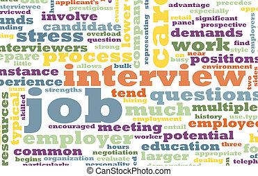 работа, интервью