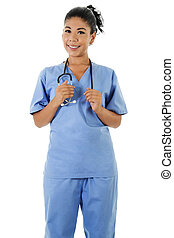 работник, женский пол, healthcare