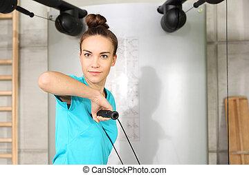 разрабатывать, в, , gym.