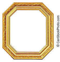 рамка, золото