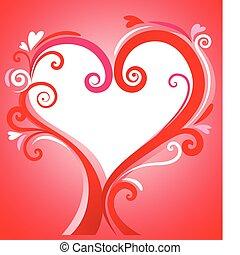 рамка, valentines