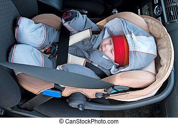 ребенок, безопасность, сиденье