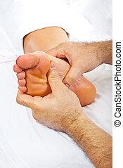 рефлексология, фут, массаж