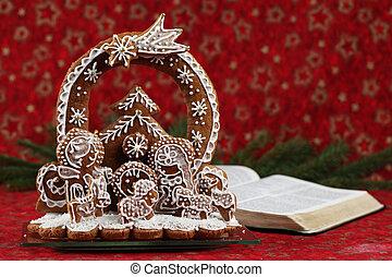 рождество, библия