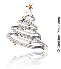 рождество, дерево