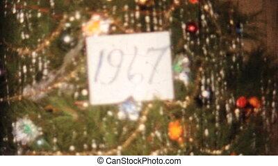 рождество, дерево, candle-1967