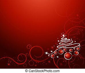 рождество, задний план