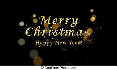 рождество, новый, декоративный, альфа, художественный, year...